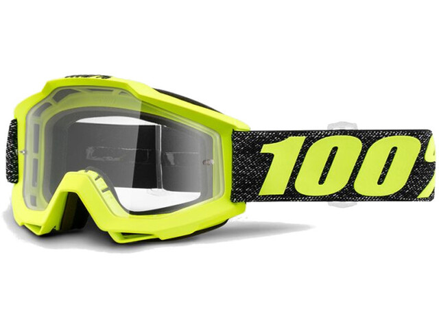 100% Accuri Anti Fog Clear Goggles tresse
